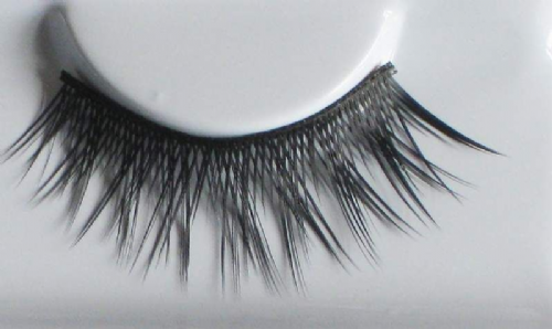 Eyelashes set Crossed Unsteady Black Cosmetic Makeup Accessory